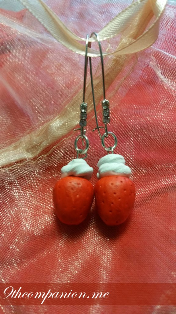Heartful Sweets Kawaii Strawberry Earrings
